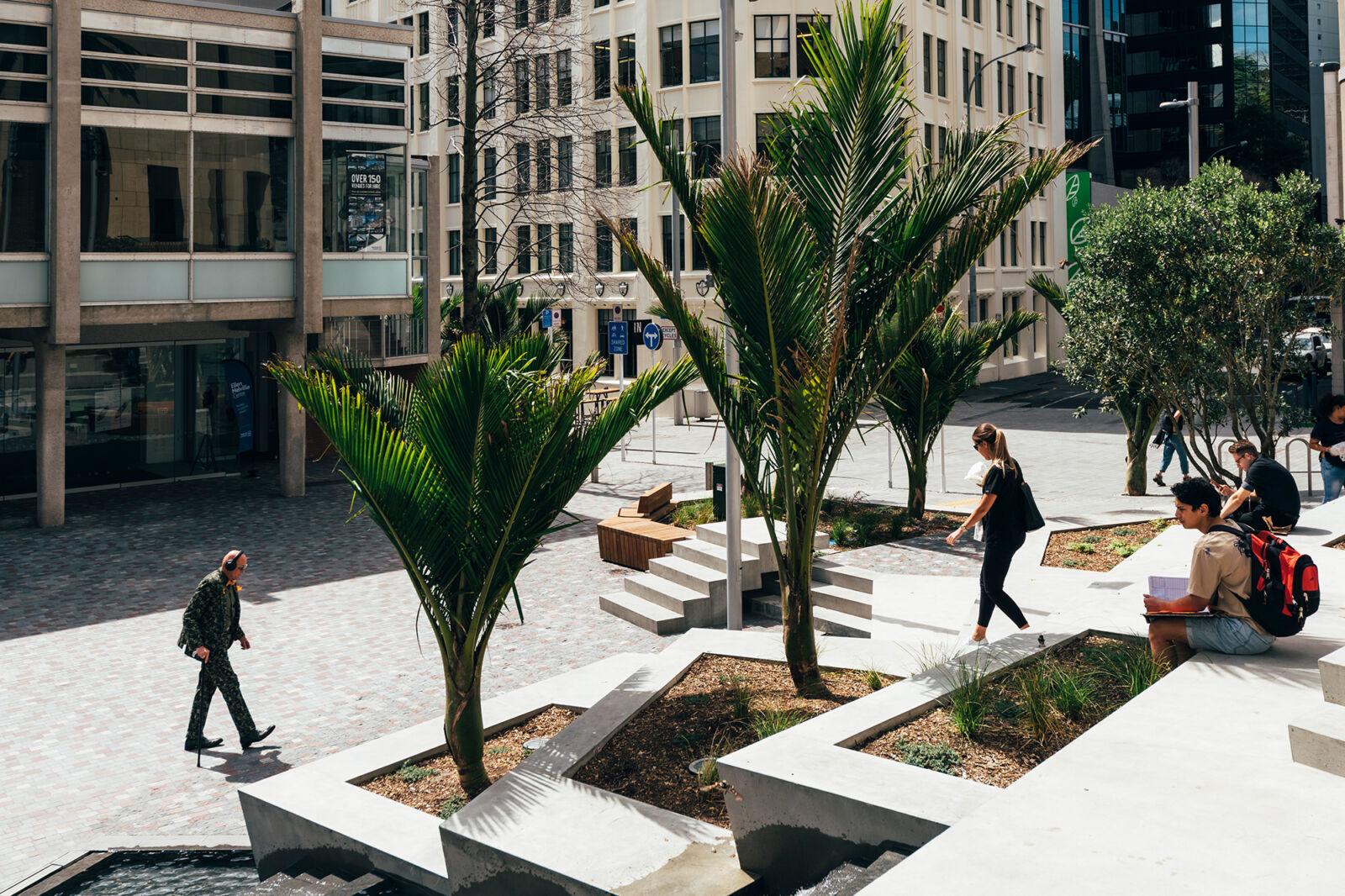 Freyberg Place, Auckland CBD