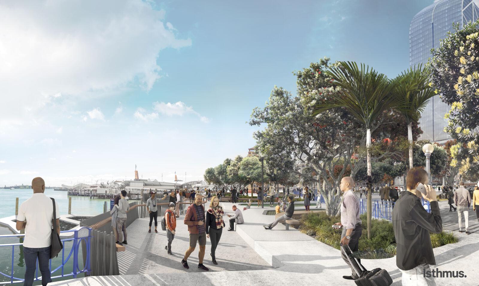 Landscape Architecture Waterfront Public Space