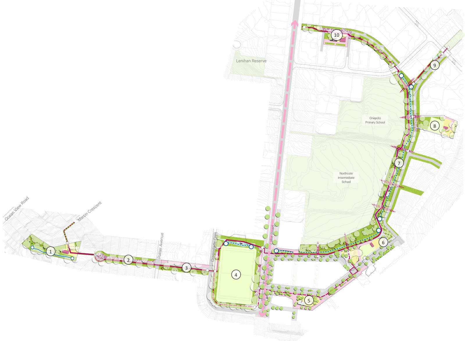Comnunity Greenway Master Plan