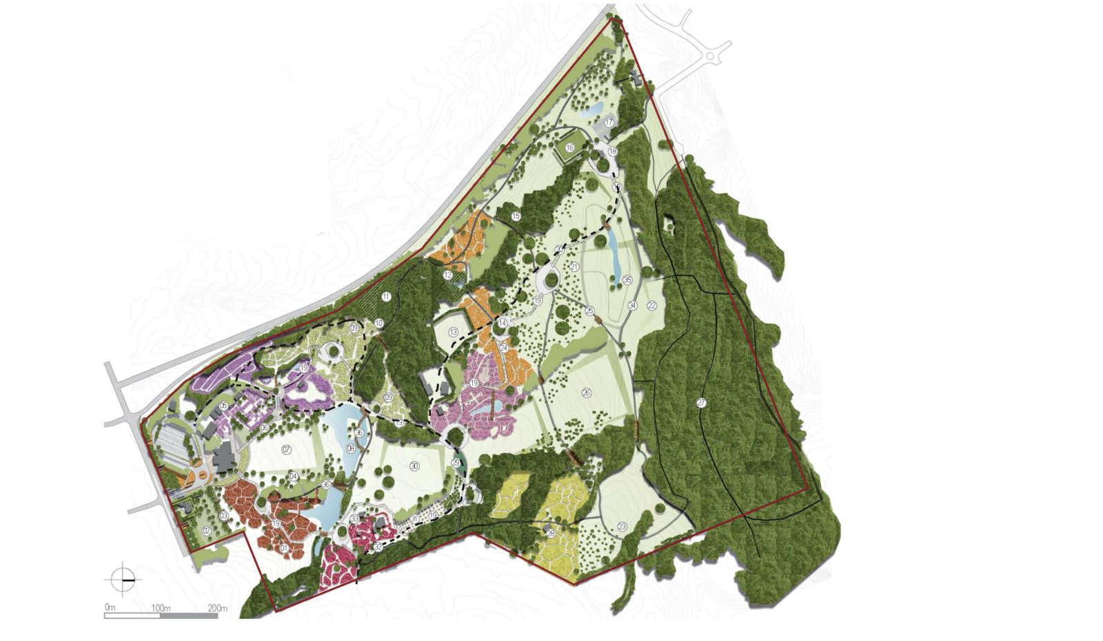 Isthmus Auckland Botatic Garden Master Plan